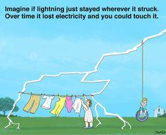 Imagine if lightning just stayed...