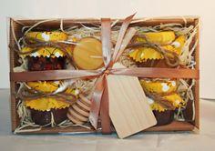 Honey Gift Set - Limited Edition - Luxury Honey Hamper -Edible gift - Honey -Beeswax candle- Christmas Box on Etsy, $22.89