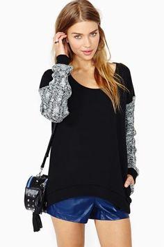 Night Gaze Sweater