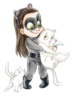 Awesomely Cute Geek and Superhero Art from Laurie B - News - GeekTyrant