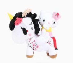 """tokidoki x Hello Kitty 20"""" Large Plush: Unicorno"""
