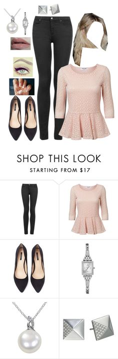 """""""Ray-Linnhe: Outfit 1"""" by xxfreespiritxx ❤ liked on Polyvore featuring Topshop, Vero Moda, Forever 21, GUESS, Michael Kors, Wet n Wild, women's clothing, women, female and woman"""