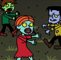It's a Zombie apocalypse! Use our fun, spooky Zombie Race Timer to see which character makes it to the finish line first! Fun Timers, Classroom Timer, Zombie Apocalypse, Back To School, Racing, Technology Lessons, Game, Venison, Auto Racing