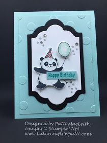 Party Pandas! A fun stamp set that you can only earn for FREE by purchasing $50 in merchandise during Sale-A-Bration, going on right no...