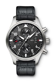 IWC 2012 Pilot's Watch Chronograph. Ref. 3777. 43 MM.