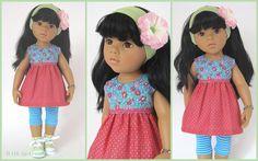 Gotz Dolls, Doll Clothes, Snow White, Summer Dresses, Etsy, Disney Princess, Disney Characters, Clothing, Pink