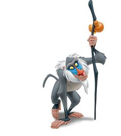 Rafiki | The Lion King Characters | Disney.co.uk