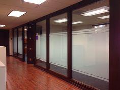 custom frost window film for office space in Los Angeles