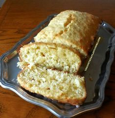 This Pineapple Coconut Loaf Cake makes a great dessert to serve family and friends. If you like pineapple and coconut, you will love this cake.