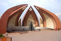 Pakistan National Pavilion Monument at Shakarparian, Islamabad, Pakistan. The Beautiful Country, Beautiful Places, Pakistan Pictures, Mughal Architecture, Indus Valley Civilization, National Animal, Islamabad Pakistan, Heritage Museum, National Symbols