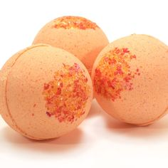 citrus bath bombs