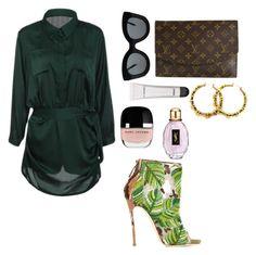 """Tyecha-stylecloset"" by tyecha-stylecloset on Polyvore featuring Dsquared2, Louis Vuitton, CÉLINE, Marc Jacobs and Yves Saint Laurent"
