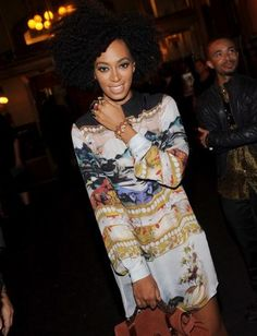 Lucky Girl: Solange Knowles : Lucky Magazine