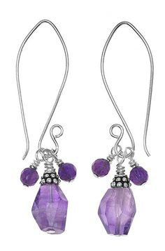 Tutorial - How to: Purple Rain Earrings Project | Beadaholique