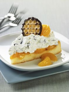 Schokokusstorte mit Mandarinen   http://eatsmarter.de/rezepte/schokokusstorte-mit-mandarinen