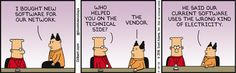 Boss Buys Software Without Help -  Dilbert Comic Strip on 2016-08-16 | Dilbert by Scott Adams