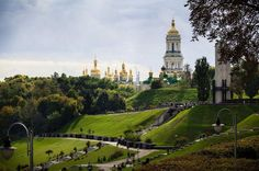 Kiev Pechersk Lavra cave monastery by Alexander Serov / Countries To Visit, Countries Of The World, Places Around The World, Around The Worlds, Russia Ukraine, Kiev Ukraine, Sea Of Azov, Heart Of Europe, Life Is An Adventure