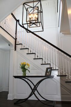 Add drama to your Entry. House of Cline Design featuring Morgan by Troy Lighting