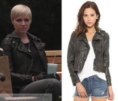 Pretty Little Liars: Season 6 Episode 13 Sara's Leather Hooded Jacket