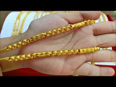 7aug อัพเดทสร้อยคอทอง 2 บาท ความยาวสวมหัว 24 25inches Necklaces - YouTube Gold Bangles For Women, Mens Gold Jewelry, Gold Chains For Men, Gold Rings Jewelry, Gold Chain Design, Gold Jewellery Design, Mens Chain Designs, Gold Jhumka Earrings, Gold Necklace