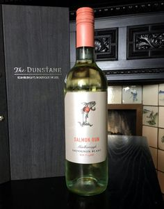 Salmon Run Sauvignon Blanc. This is the first Marlborough Sauvignon on the house wine list and it has become our most popular!
