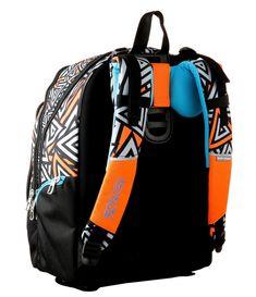 ee092f4ff9 ZAINO ADVANCED - SHIFTY BOY arancione e nero - schienale regolabile Seven
