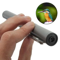 2-in-1 Portable Pocket Mini 4X Telescope & 30X Microscope Science Nature Gift Tools