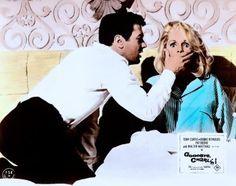 "Debbie Reynolds and Tony Curtis in ""Goodbye, Charlie"" 1964"
