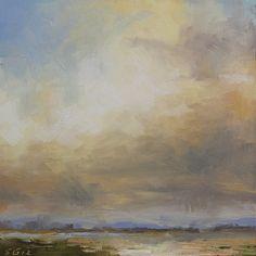 refuge sky ~ oil ~ by scott gellatly