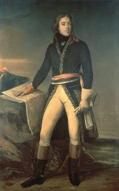 """""""General Louis-Lazare Hoche"""" by Ary Scheffer"""