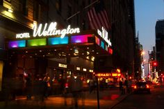 Wellington Hotel, NYC 10 minutes from Times Square 5 minutes from Central Park - Ideal Location & the staff are fantastic!