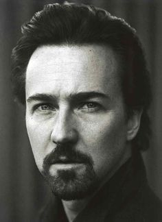 Edward Norton - my hubby looks like him in this picture!! I loved him in The Illusionist! I love him in all of his films....