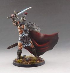Ares, sculpted by Stéphane Simon & painted by Martin Grandbarbe