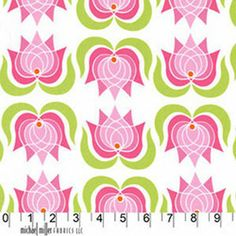 "Michael Miller's Modern Lotus - Purple - 100% Cotton, 43/44"" Available at : http://www.popularfabric.com/en/buy/i/MM_Modern_Lotus_Purple"