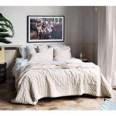Plushious Velvet Ivory Bedspread | Luxurious Ivory Throw