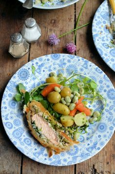 Lavender and Lovage | June Thrifty and Organic Meal Planner: Salmon, Watercress and Strawberry Delights! | http://www.lavenderandlovage.com