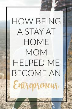 How Being A Stay At Home Mom Helped Me Become An Entrepreneur. Six reasons why motherhood qualifies you to be an entrepreneur. Love how empowering this article is!