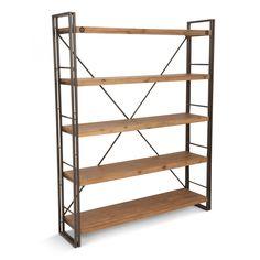 Brooklyn Large Open Shelf - Cabinets & Storage - MOE'S Wholesale