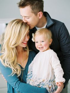 Intimate Indoor Family Portraits | Denver, Colorado