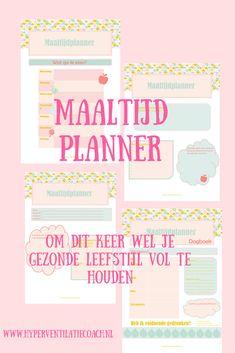 Blij om mijn nieuwste toevoeging aan mijn #etsy shop te kunnen delen: Printable maaltijd planner in Nederlands. Werk aan een gezonde levenstijl met deze handige en overzichtelijke planner http://etsy.me/2Dgo6OS #papierwaren #kalender #printable #gezond #maaltijdplanner
