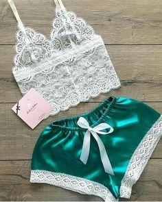Jolie Lingerie, Lingerie Outfits, Pretty Lingerie, Women Lingerie, Sexy Pajamas, Pajamas Women, Pyjamas, Ropa Interior Babydoll, Cute Sleepwear