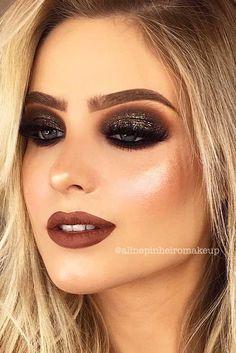49f750162 28 mejores imágenes de Maquillaje y peinados para las fiestas