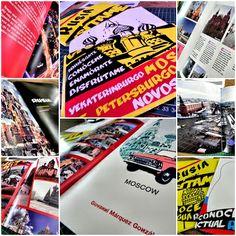 Editorial Design.  Touristic Magazine for Moscow, St. Petersburg, Novosibirsk and Ekaterinburg.