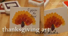 """""""Thankful for..."""" on the cover and then inside my students can write 3 things that they are thankful for.   Found this through: The three 'R's: Thanksgiving Art with Kids- Gratitude to God"""