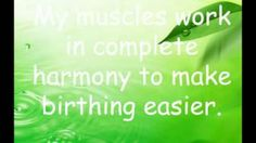 Hypnobirthing Affirmations and Visualisations 2