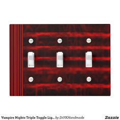 #Vampire #Nights #Triple #Toggle #Light #Switch #Cover