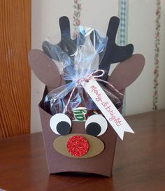 Laura's Works of Heart: REINDEER FRY BOX: