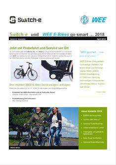 Switch-E und WEE E-Bikes go smart