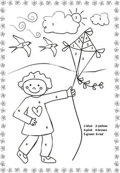 Crafts,Actvities and Worksheets for Preschool,Toddler and Kindergarten.Free printables and activity pages for free.Lots of worksheets and coloring pages. Christmas Worksheets Kindergarten, Color Worksheets For Preschool, Kindergarten Coloring Pages, Kindergarten Colors, Preschool Colors, Numbers Kindergarten, Numbers Preschool, Free Preschool, Preschool Activities