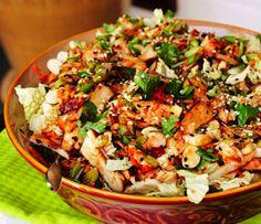 Spokane Dinner Club: Ginger Sesame Grilled Chicken Salad